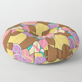 Pan Dulc Overload Floor Pillow