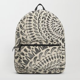 mandala18w Watercolor Mandala Backpack