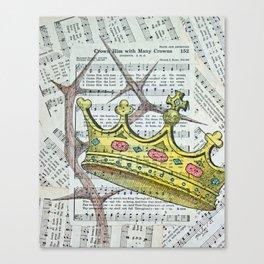 Crown Hymn Canvas Print
