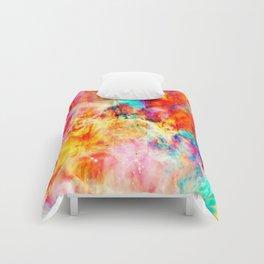 Colorful Abstract Nebula Comforters