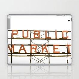 Pike Place Public Farmers Market - Sunrise Laptop & iPad Skin
