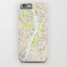 Paris SGB Watercolor Map iPhone 6s Slim Case