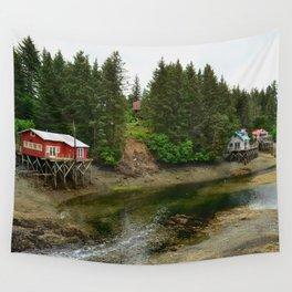 Seldovia Slough - Alaska Wall Tapestry