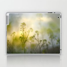 forest of flowers at sunset Laptop & iPad Skin