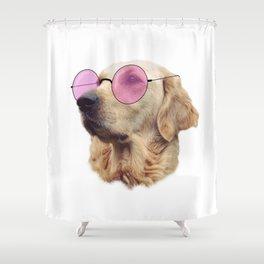 Cool Doggo Shower Curtain