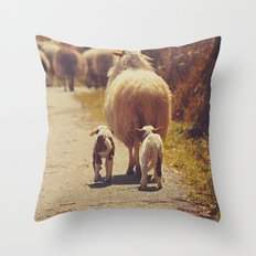 Love Mama. Throw Pillow