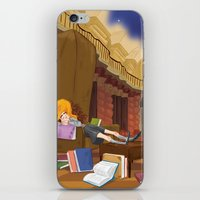 hermione iPhone & iPod Skins featuring Hermione  by Lesley Vamos
