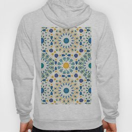 geometric pattern jewel tones  Hoody