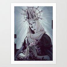 Queen of the Deaa Art Print