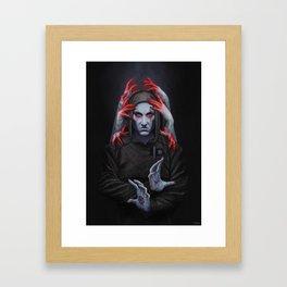 Jasper: Unseen Framed Art Print