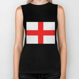 England flag Biker Tank
