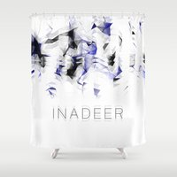 native Shower Curtains featuring NATIVE by Inadeer