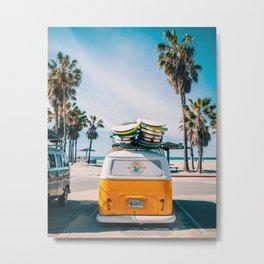 Combi van surf Metal Print