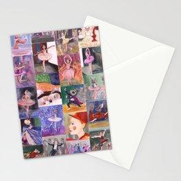 Nutcracker Pattern Stationery Cards