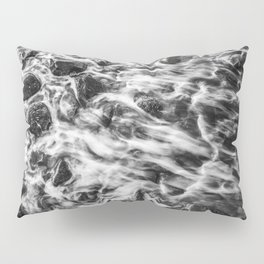 Colorless Slow Motion Pillow Sham