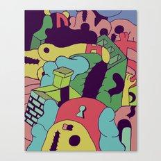 Acid Trip Canvas Print