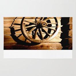 Old Cartwheel #decor #society6 Rug