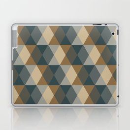 Caffeination Geometric Hexagonal Repeat Pattern Laptop & iPad Skin