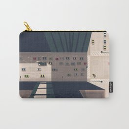Seattle, Washington state Travel poster Carry-All Pouch