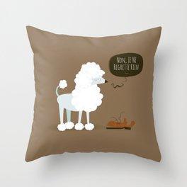 Non, Je Ne Regrette Rien Throw Pillow
