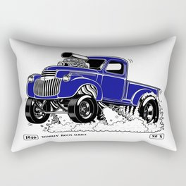 1946 Chevy Pick-up – BLUE Rectangular Pillow