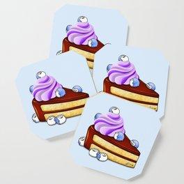 Choc Penguin Cake Coaster