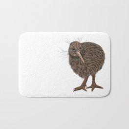 Charming Kiwi bird Bath Mat