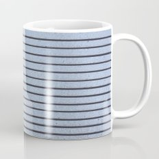 Concrete Stripe Blue Mug