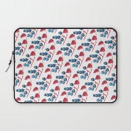 Watercolor Blueberries Laptop Sleeve