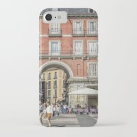 real madrid iPhone & iPod Cases featuring Relaxing cup, Madrid by Solar Designs
