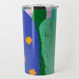 Painted cacti Travel Mug