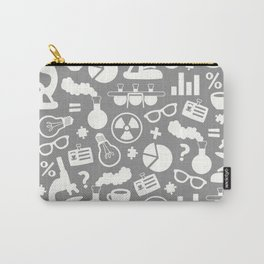 Grey Scientist Carry-All Pouch