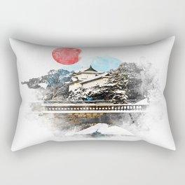 Japan, Tokyo - Imperial Palace Rectangular Pillow