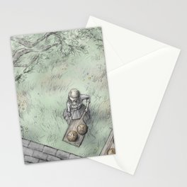 Mother Hulda Stationery Cards