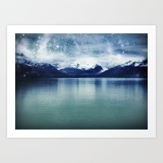 Fjord of Anchorage Art Print