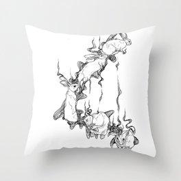 Rabbit Spirit Throw Pillow