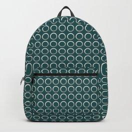Elegant silver pattern Backpack