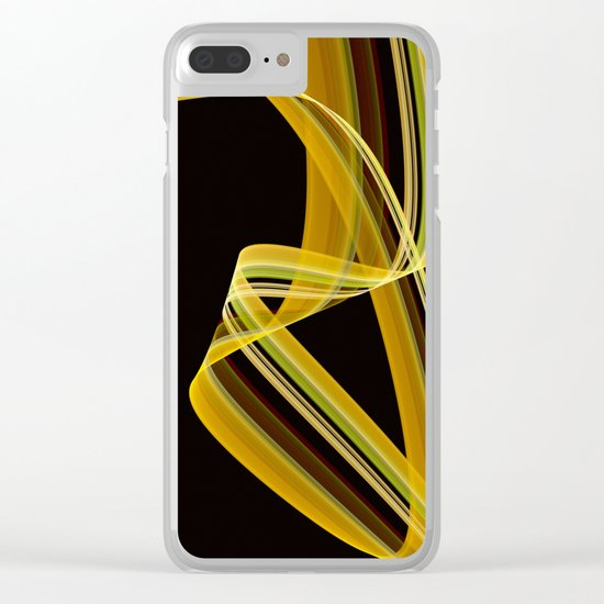 The dancing scarf Clear iPhone Case