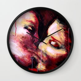 Drunk Love Wall Clock