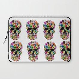 colorfull skull Laptop Sleeve