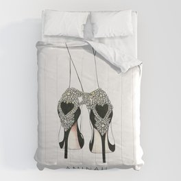 Diemond shoes Comforters