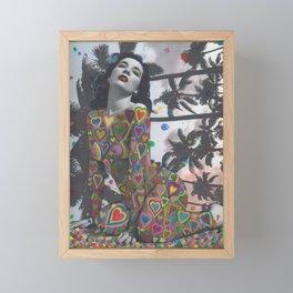 Hearts Framed Mini Art Print