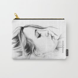 Bea Miller Pencil Sketch Carry-All Pouch