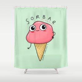 Sorbae Shower Curtain