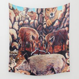 The Three Little Pigs Wall Tapestry