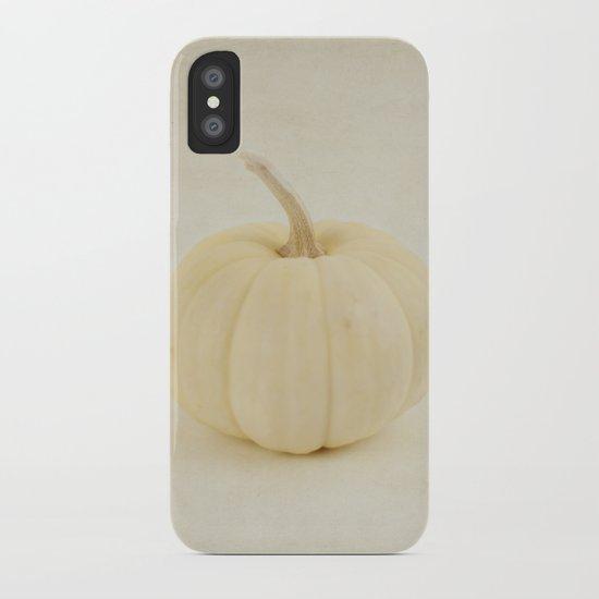 Baby White Pumpkin iPhone Case