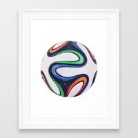world cup Framed Art Prints featuring World Cup 2014 by LCPCS