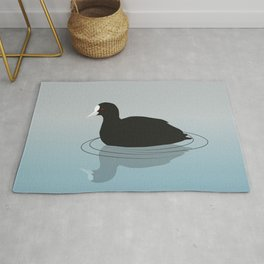 Common coot vector Rug