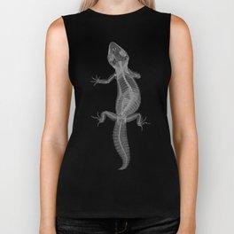 Gecko Skeleton Biker Tank