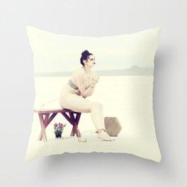 """""""Bound Desolation"""" #3 Throw Pillow"""